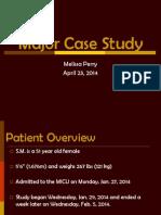major case study ppt