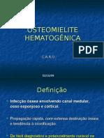 OSTEOMIELITE HEMATOGÊNICA