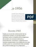 Decreto 1956