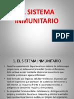 18. El Sistema Inmunitario