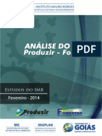Analise Do Censo Fomentar-produzir