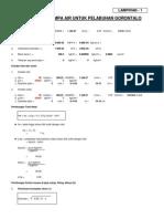 Perhitungan Head Dan Spesifikasi Pompa
