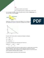Teorema-Pitagoras y Thales