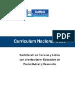 CNB Bach Ciencias y Letras Orientacion Educacion de Prod y Desarrollo