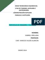 Portafolio Panderia y Pasteleria