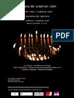 I Semana de Israel en León 2014 Concierto