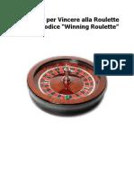 Sistema Winning Roulette