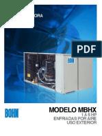 BCT 010 573 1A Unidades Condensadoras MBHX
