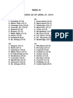 Week 5 Statewide Baseball Poll