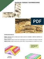Estructuras Geologicas Fuerzas y Deformaciones