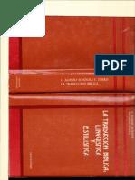 La Traducción Biblica Linguistica y Estilistica Luis Alonso Schokel