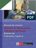 Manual Para Usar El Modulo Cobranza Coactiva Dado x El Mef - 2012