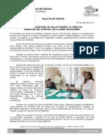 28/04/14 ACREDITA SECRETARÍA DE SALUD FEDERAL AL ÁREA DE HEMOFILIA DEL HOSPITAL DE LA NIÑEZ