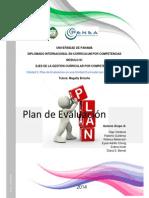 """Plan de Evaluación Versión Final. Grupo """"A"""""""