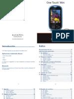 Alcatel Ot 708.Manual