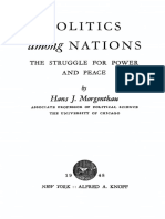 Morgenthau Politics Among Nations