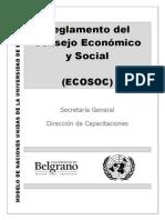 Reglamento de ECOSOC