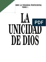 !La Unicidad de Dios