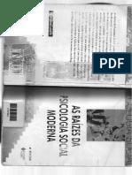As raízes da psicologia social moderna_cap01