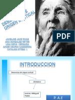 Demencias Corticales Finales Diapositivas Finissss