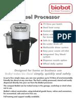 Maquina de Biodiesel a Partir de Aceite Casera