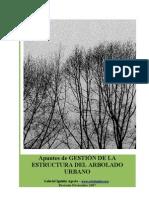 Apuntes de gestion de la estructura del arbolado urbano.