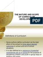 curriculum project for april 26th