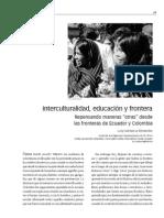 Santacruz, Lucy Interculturalidad, Educacion y Frontera