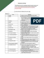dosimetry - research stats worksheet