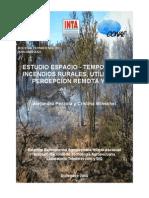 Estudio Espacio Temporal Incendios Rurales INTA Ascasubi