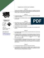 Regulamento da Récita das Faculdades da Queima das Fitas 2014