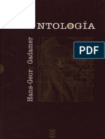 Antología de Gadamer
