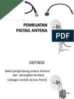 PEMBUATAN Pigtail Antenna