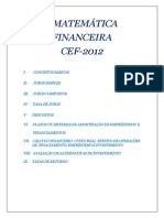 Apostila Matemática Financeira - Básica - Concurso CEF-2012_2 (1)