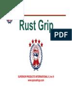 Rust Grip Spanish Presentation, SPI-LATAM-01-14