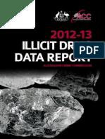 Australian Crime Commission's Illicit Drug Data Report 2012-13