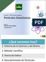 Clase 1 Química - Partículas Subatómicas