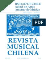Revista Musical Chilena 218 Completa (Julio-diciembre 2012)