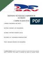 Analisis Dinamico de Maquinas