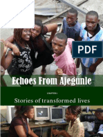 Echoes From Ajegunle