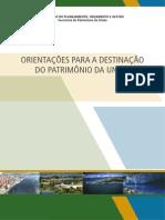 CARTILHA - Orientações para a Destinação do Patrimônio da União.pdf