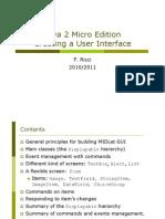 02 J2ME- Creating GUI