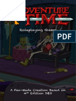 Adventure Time Tabletop Roleplaying Game Handbook