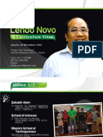 CV-Lendo Novo 2014-Desktop Presentation