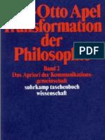 Karl-Otto Apel_Transformation Der Philosophie