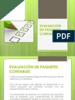 Evaluación de Software Contable