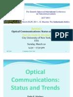 AICT 2011 Tutorial Optical