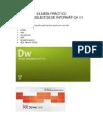 Examen Practico Web 2009b