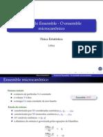 Teoria Do Ensemble - O Ensemble Microcanônico