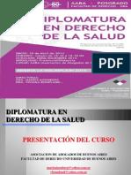 Presentación Diplomatura en Derecho de la Salud (AABA - UBA)